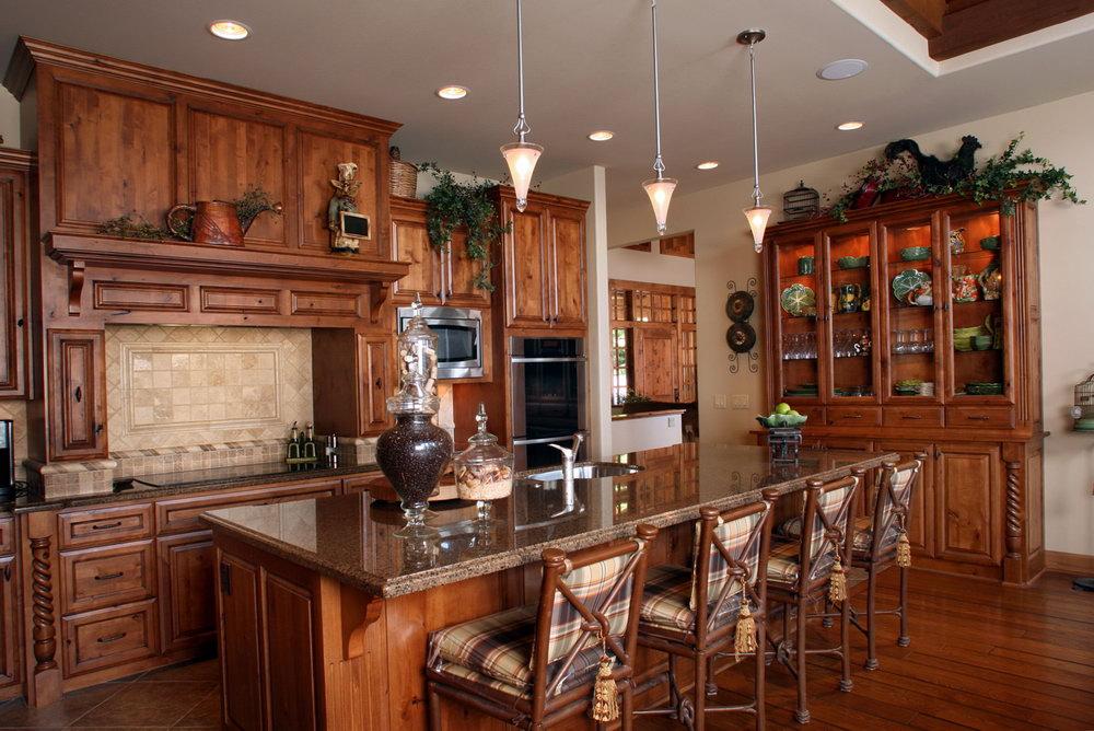 Clear Alder Kitchen Cabinets