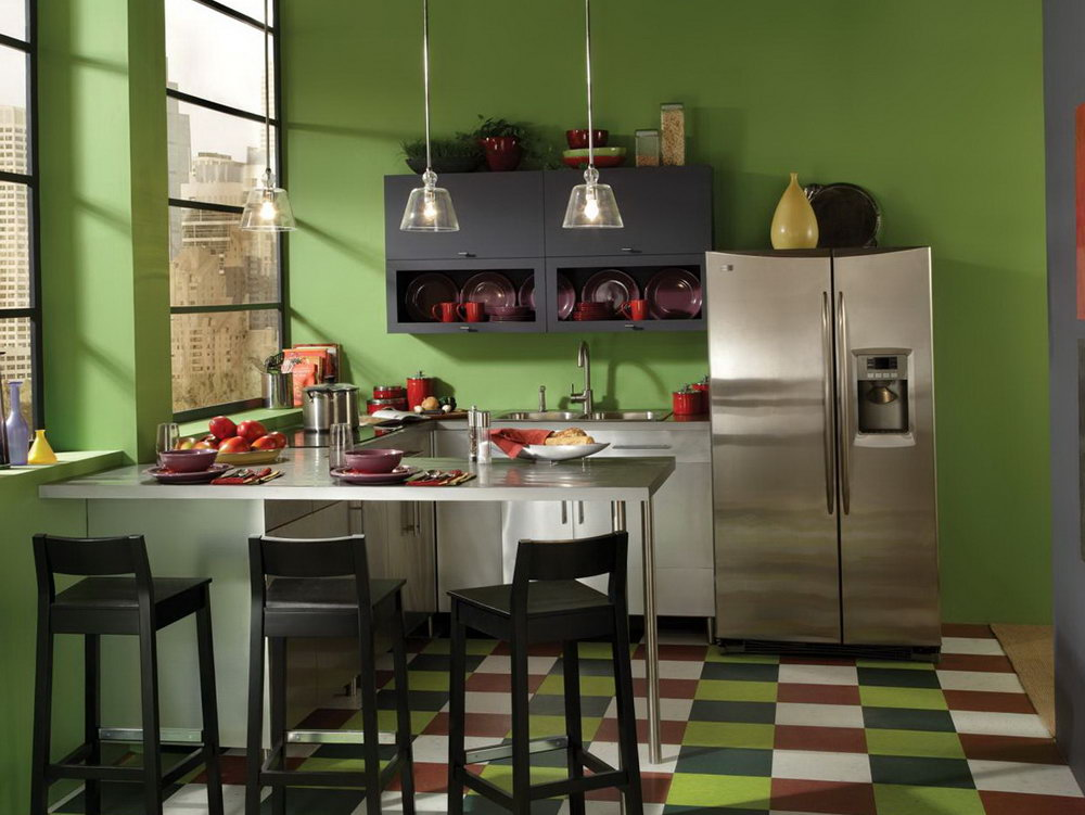 Colors To Paint Kitchen Cabinets And Walls