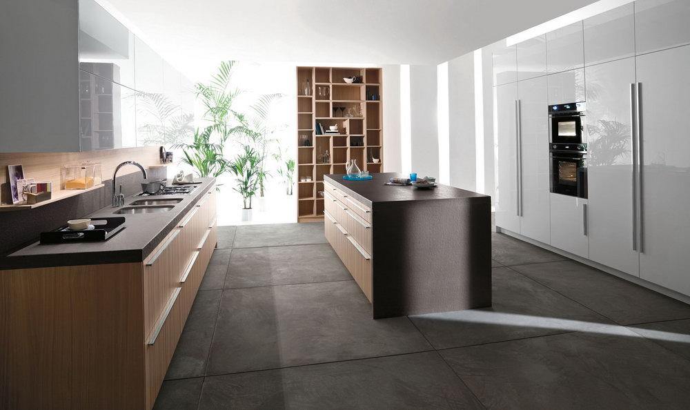 Contemporary Italian Kitchen Cabinets