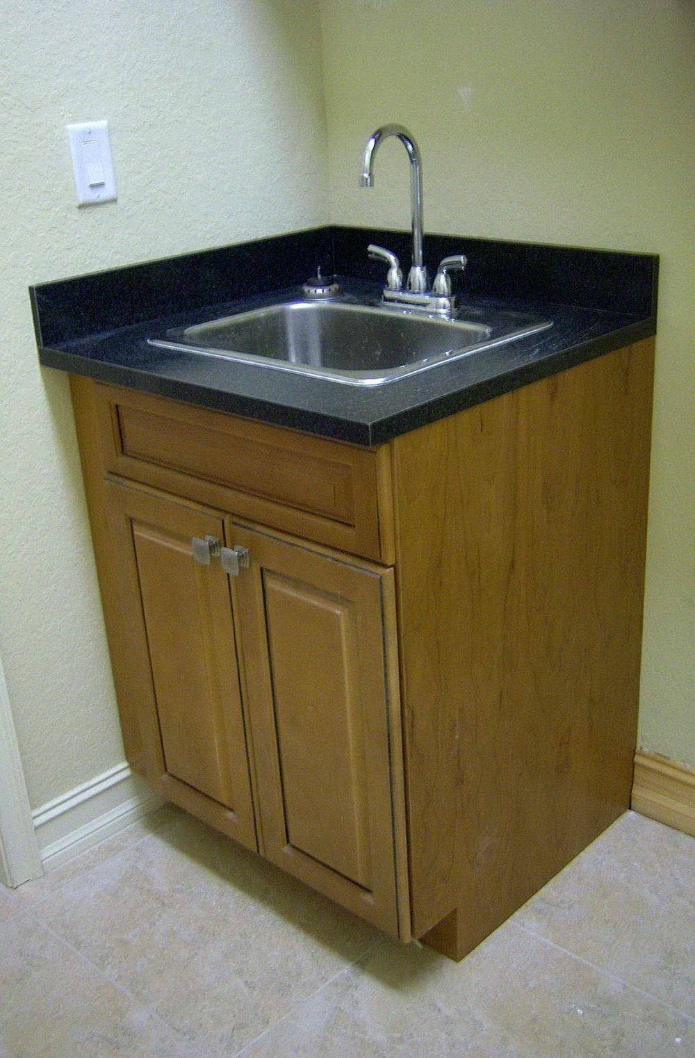 Corner Kitchen Cabinet With Sink