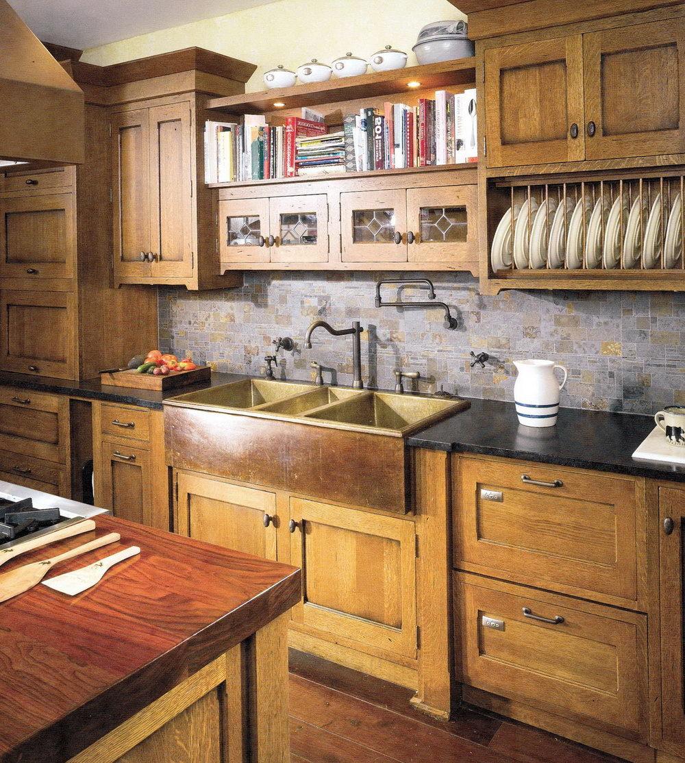 Craftsman Style Kitchen Cabinets Plans