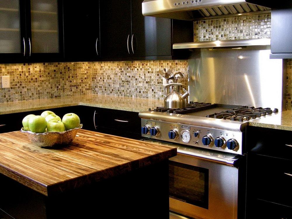 Dark Cabinet Kitchen Images