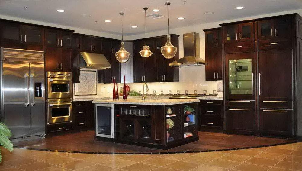 Dark Chocolate Kitchen Cabinets