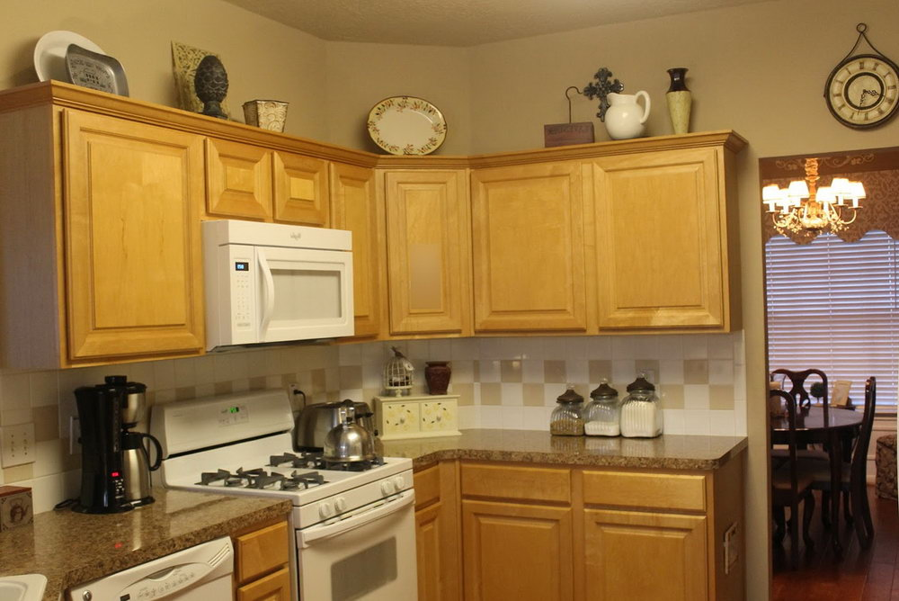 Decorating Top Of Kitchen Cabinets Pinterest