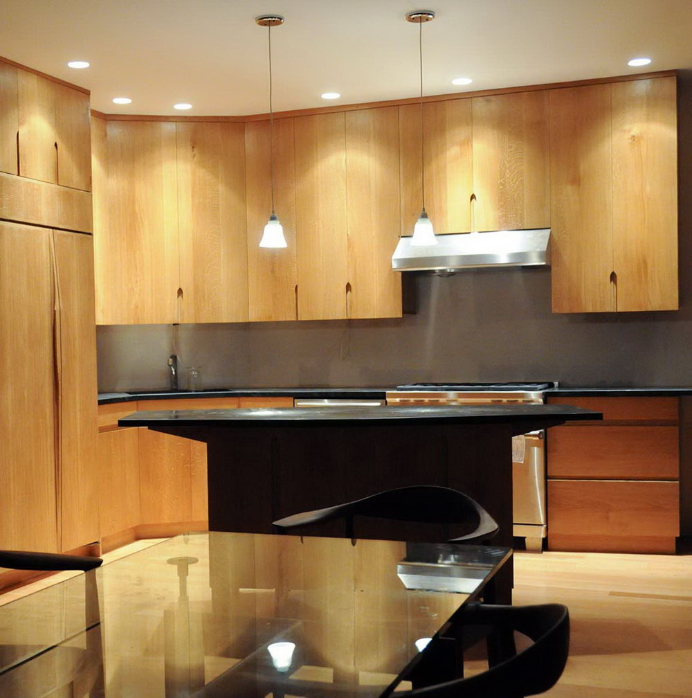 Depth Of Upper Kitchen Cabinets