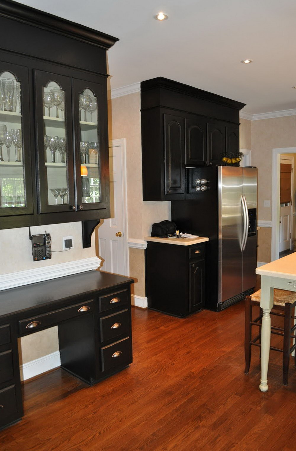 Fill In Space Above Kitchen Cabinets