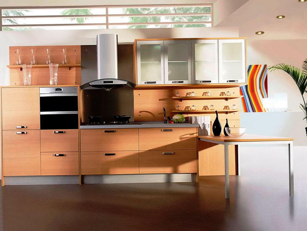 Frameless European Style Kitchen Cabinets