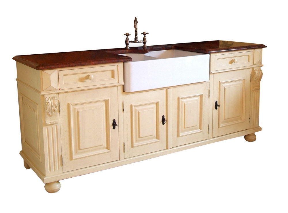 Free Standing Kitchen Sink Cabinet For Sale