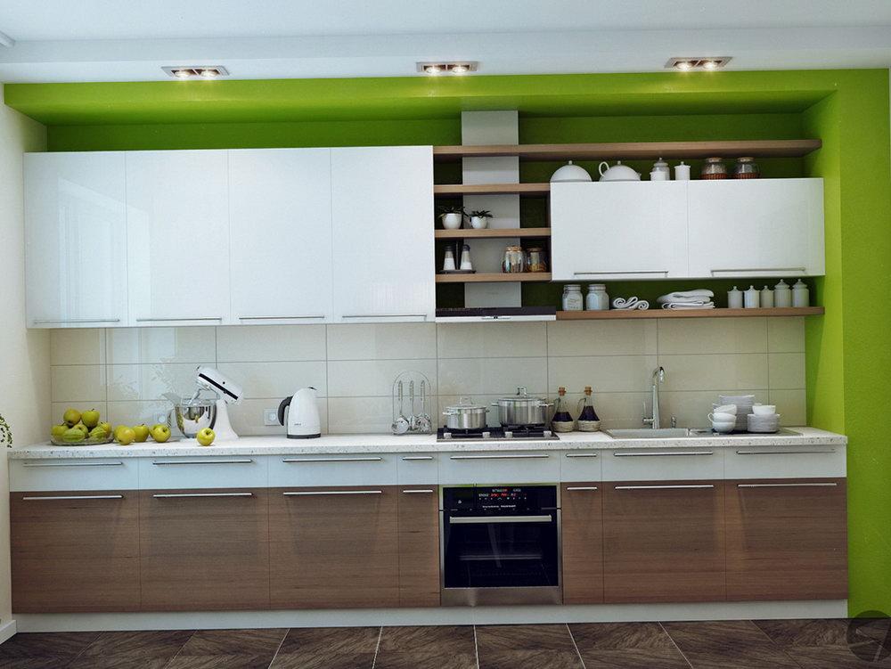 Glass Design Kitchen Cabinets
