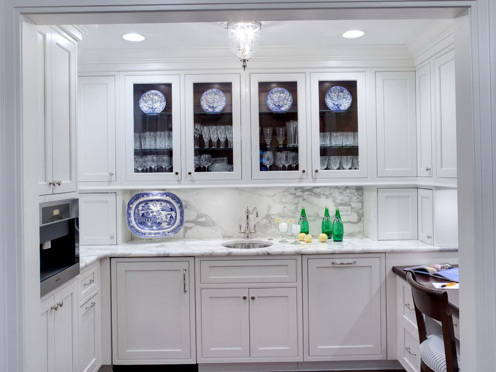 Glass Front Kitchen Cabinets Lowes