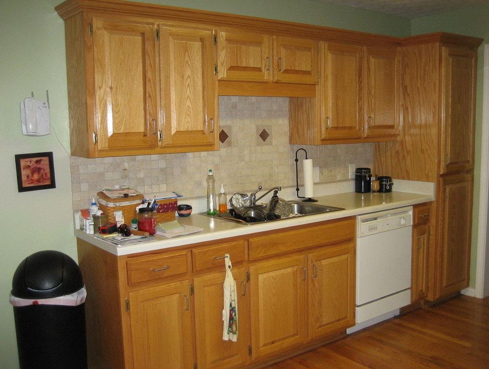Golden Oak Cabinets Kitchen Paint Colors
