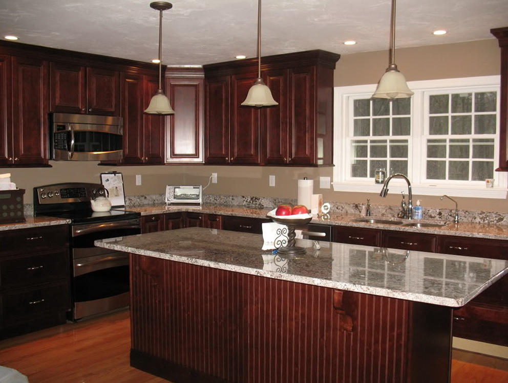 Good Kitchen Colors With Dark Cabinets