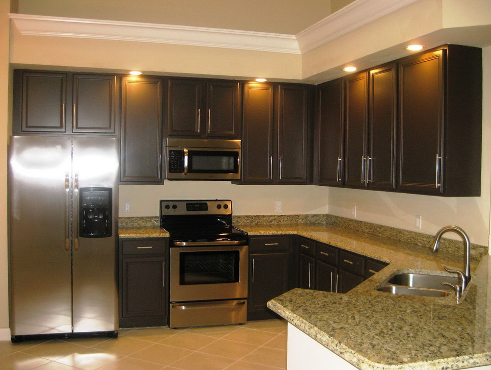 Good Kitchen Paint Colors With Dark Cabinets