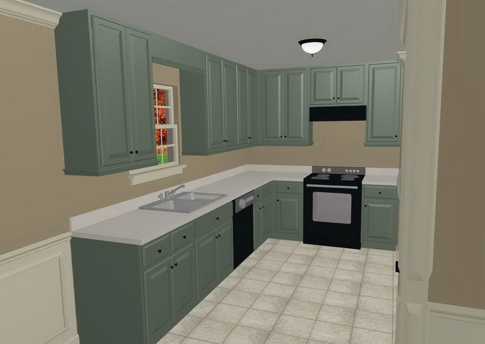 Grey Kitchen Cabinets Paint Colors