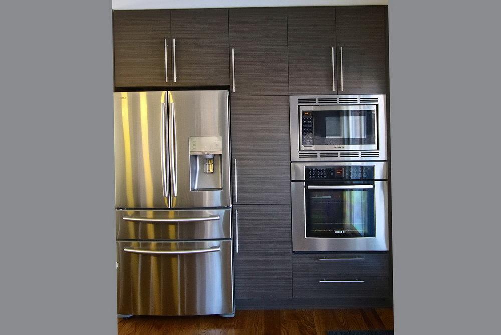 Grey Melamine Kitchen Cabinets