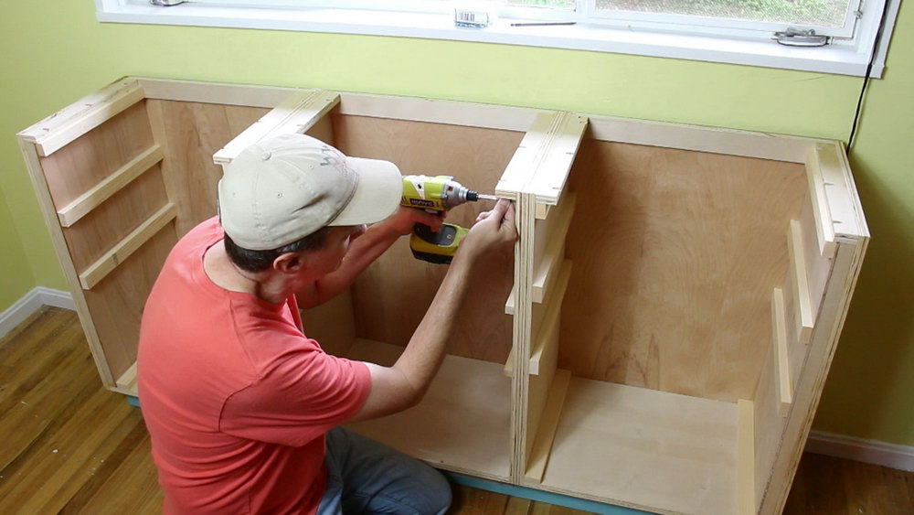 How To Build A Kitchen Cabinet Base