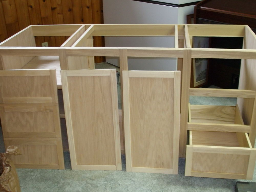 How To Build A Kitchen Cabinet Frame