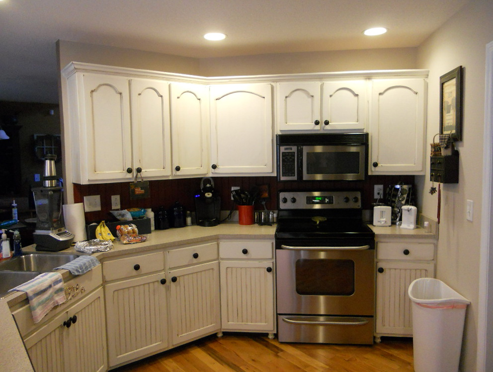 How To Paint Old Kitchen Cabinets Ideas