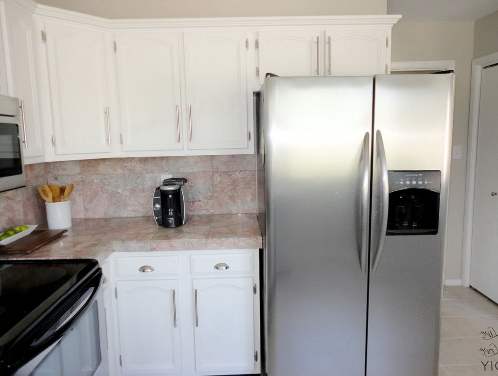 How To Paint Old Kitchen Cabinets Without Sanding
