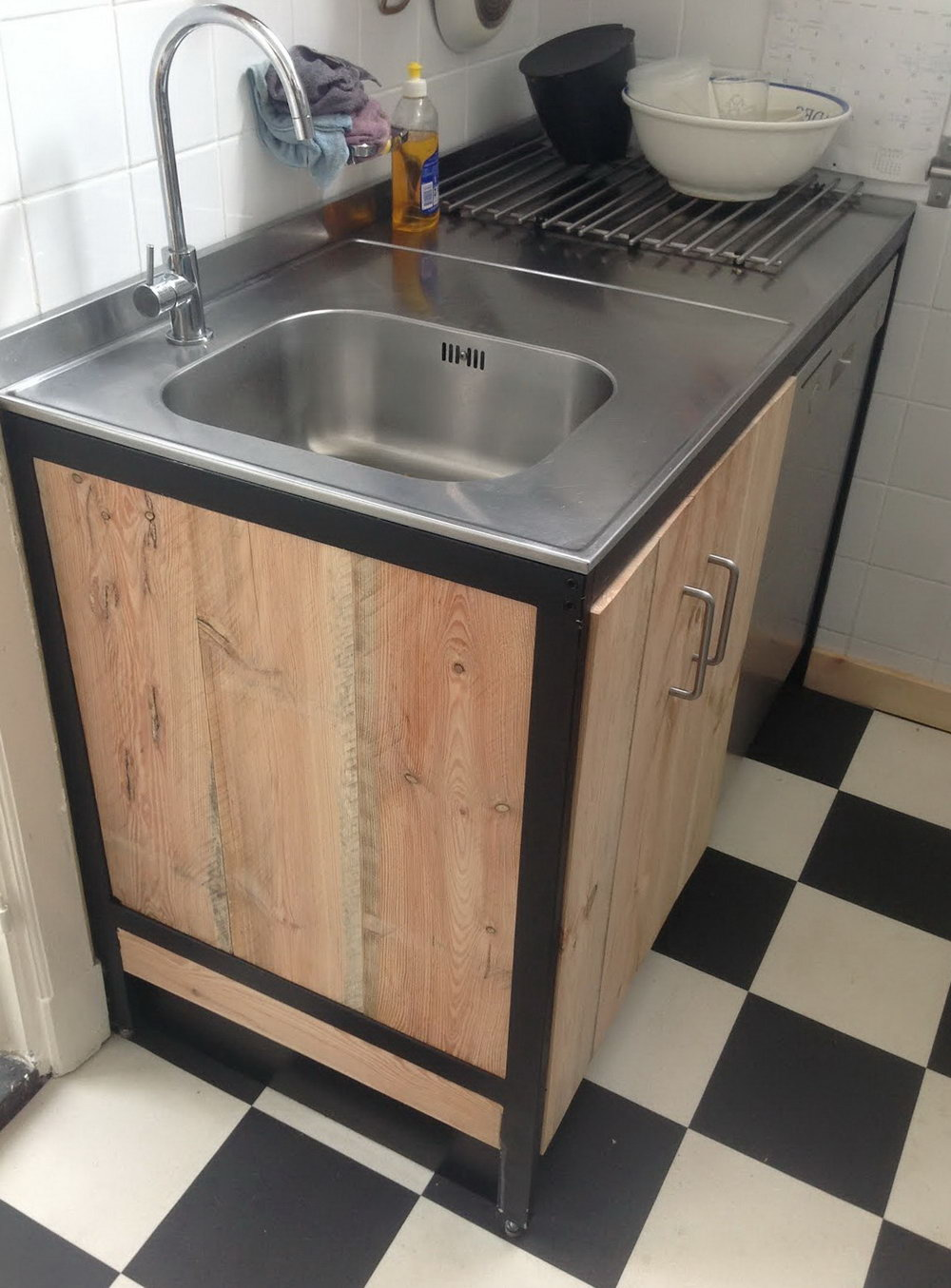 Ikea Kitchen Sink Cabinet Hack