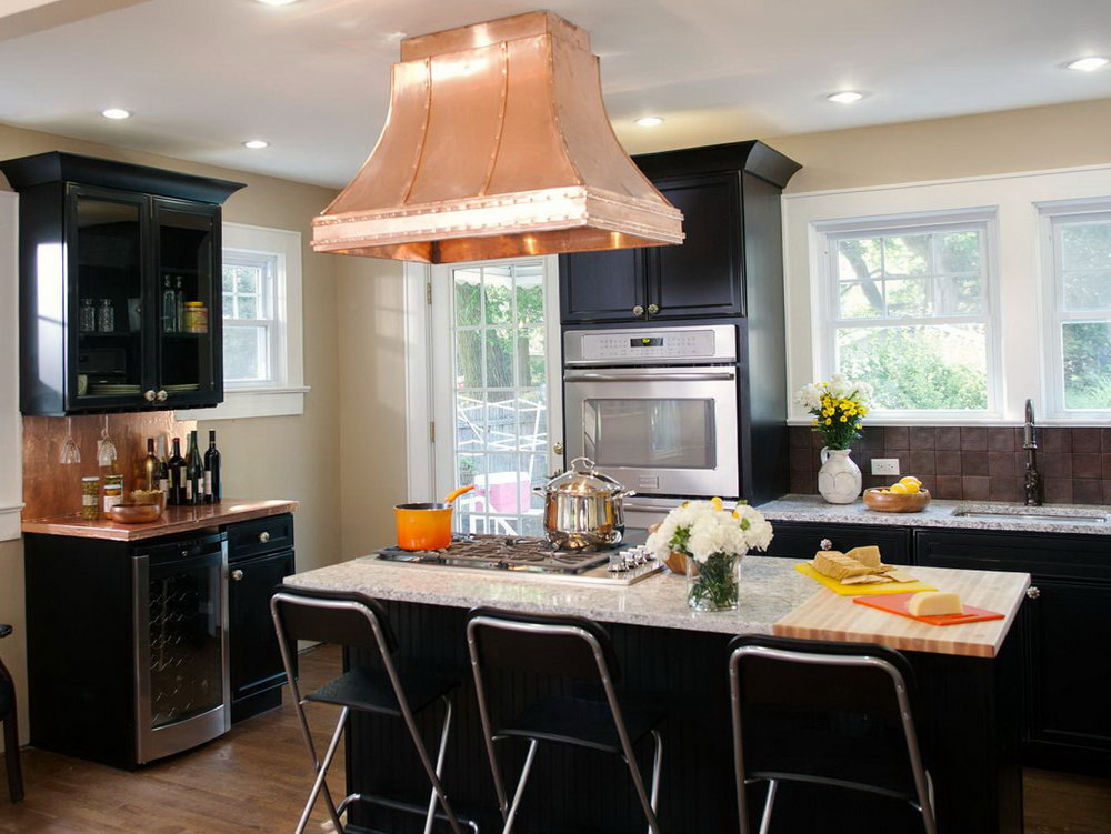 Images Of Kitchens With Black Cabinets