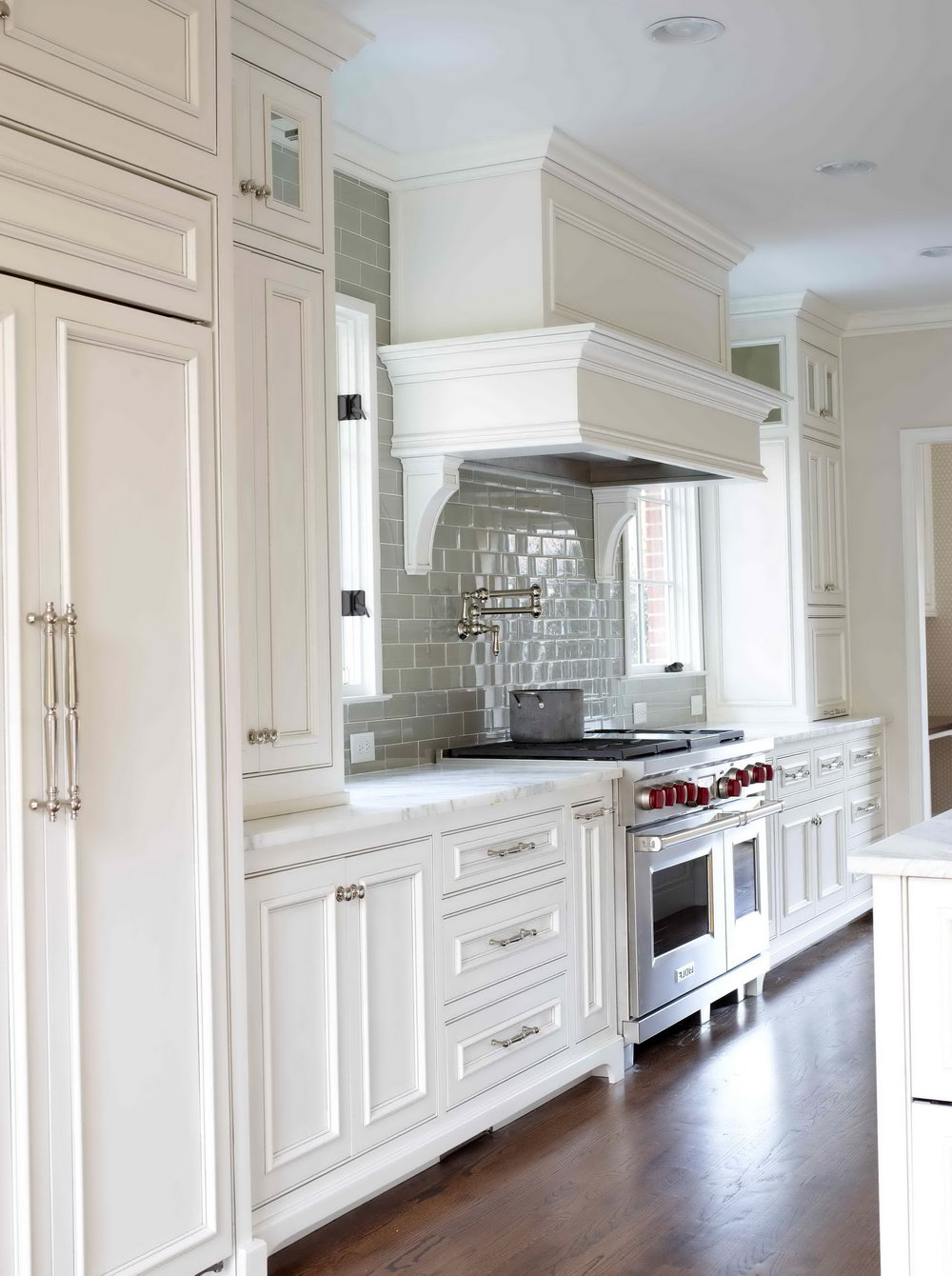 Images Of White Glazed Kitchen Cabinets