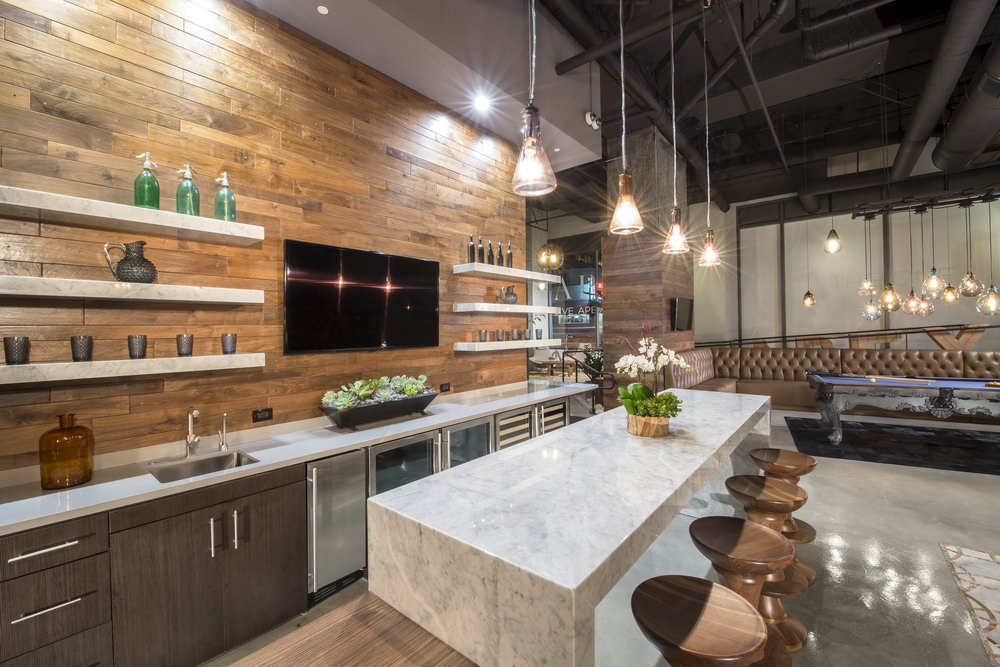 Industrial Style Kitchen Cabinets