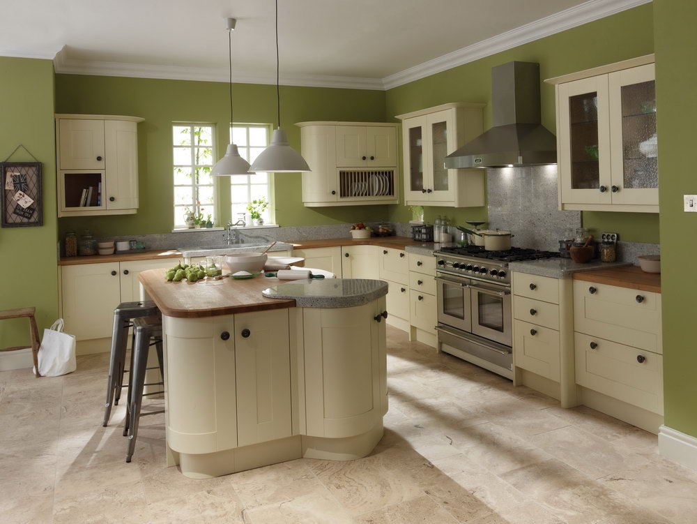 Ivory Kitchen Cabinets What Color Walls