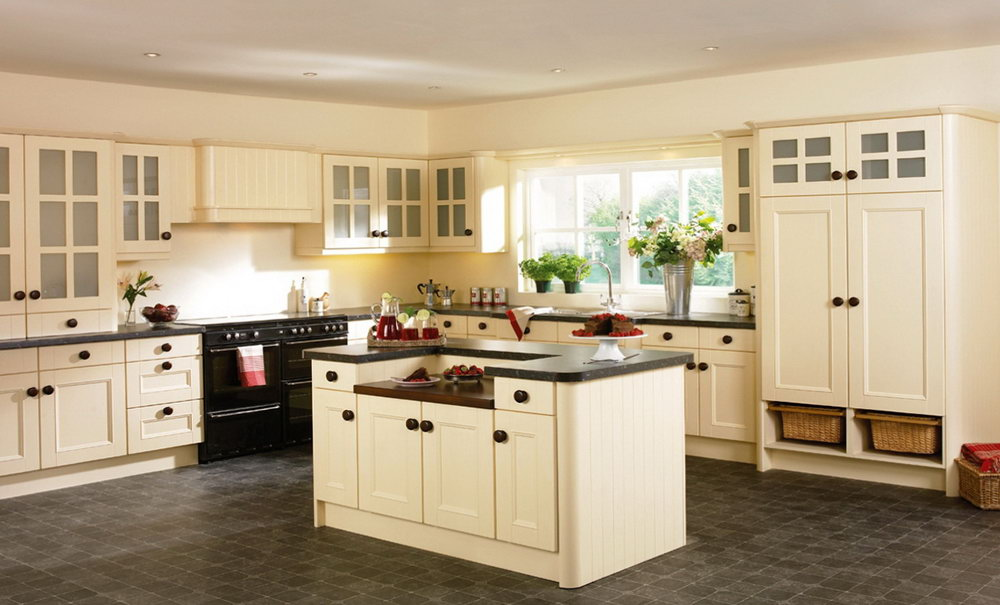 Kitchen Cabinet Color Combination