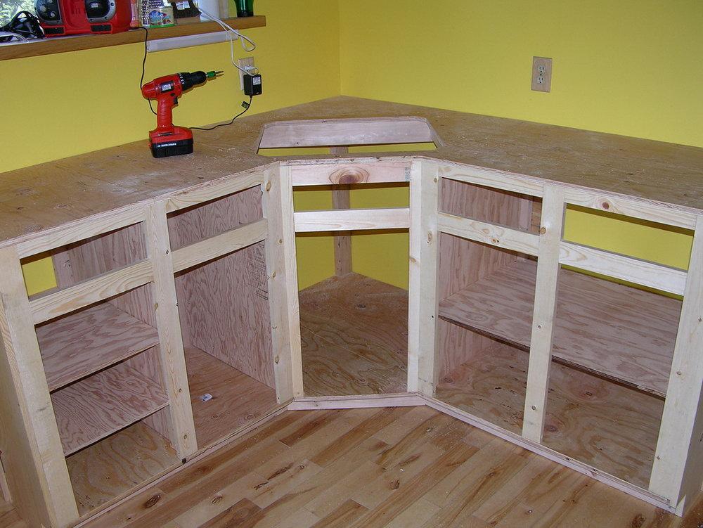Kitchen Cabinet Construction Details