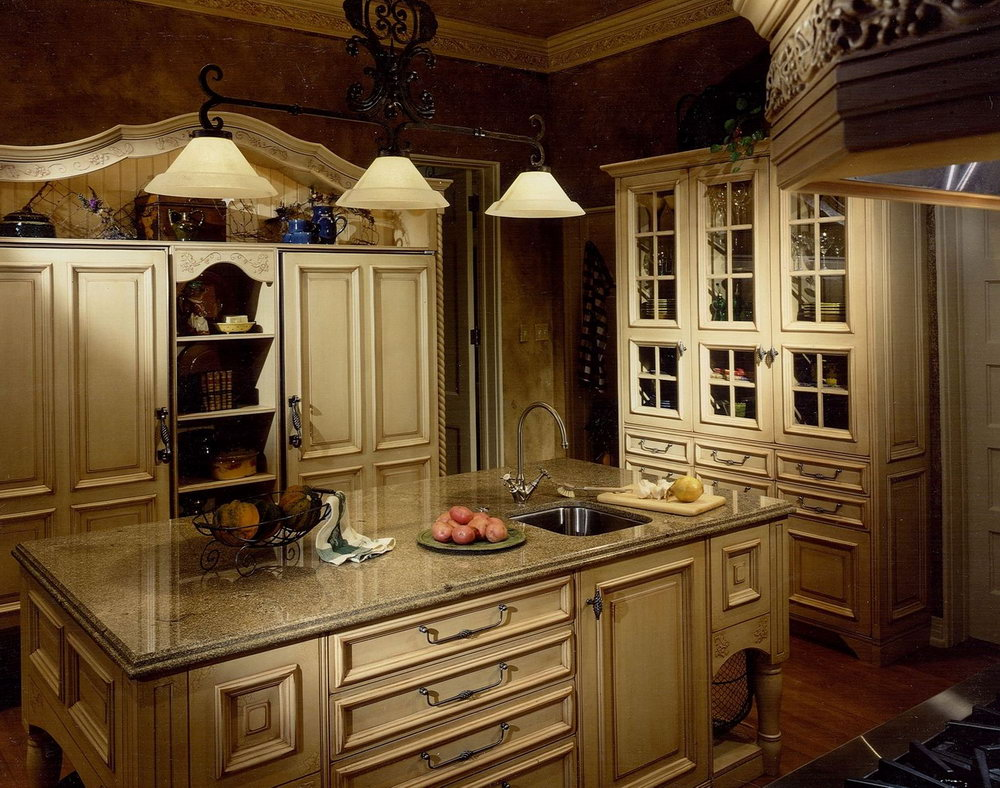 Kitchen Cabinet Decorating Ideas Above