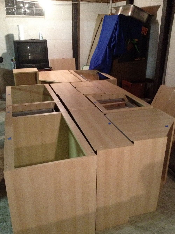 Kitchen Cabinet Drawer Construction