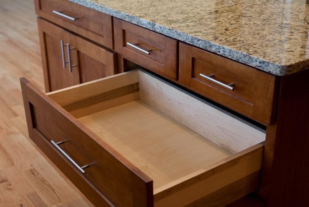 Kitchen Cabinet Drawer Designs