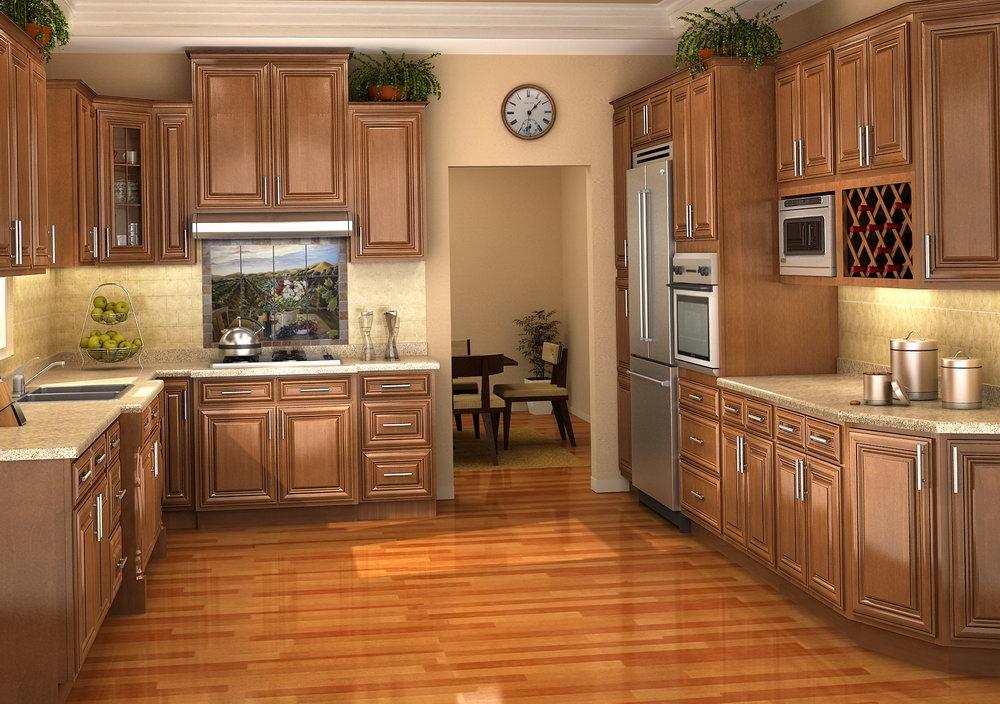 Kitchen Cabinet Finishes Glaze