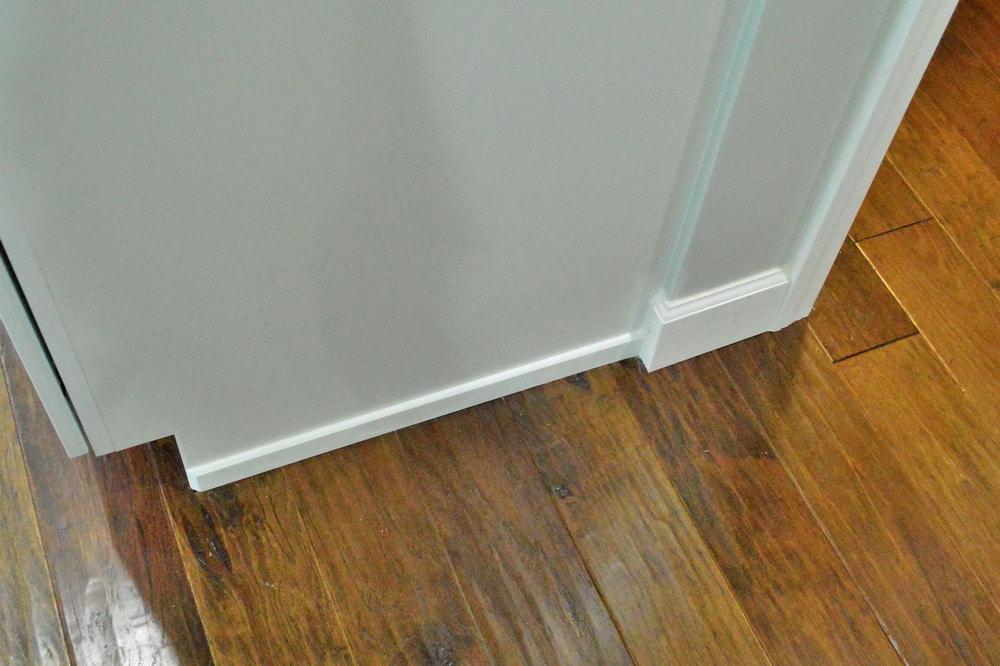 Kitchen Cabinet Floor Trim