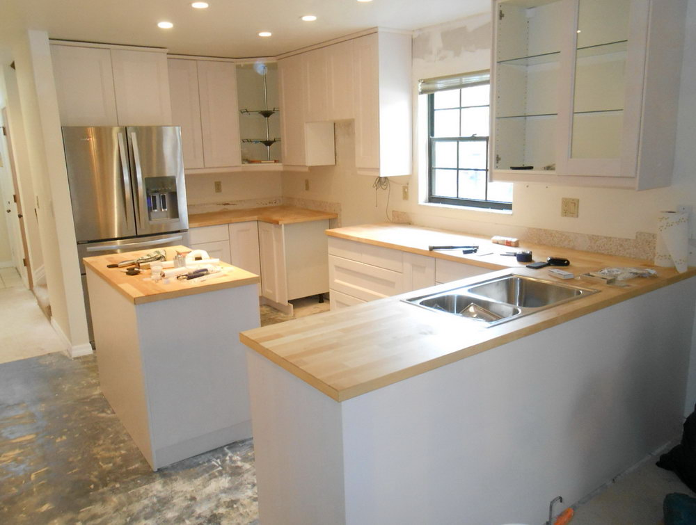 Kitchen Cabinet Installation Cost Home Depot