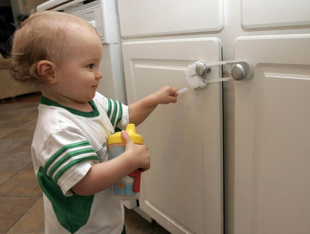 Kitchen Cabinet Locks Baby