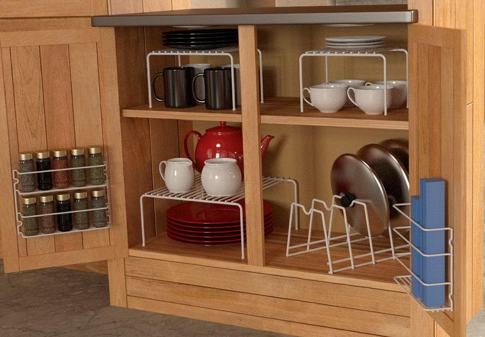 Kitchen Cabinet Shelf Dividers