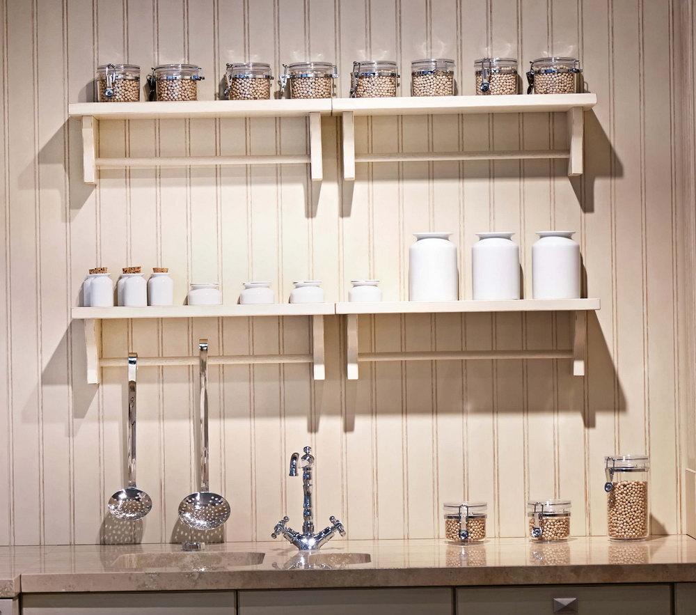 Kitchen Cabinet Shelf Risers