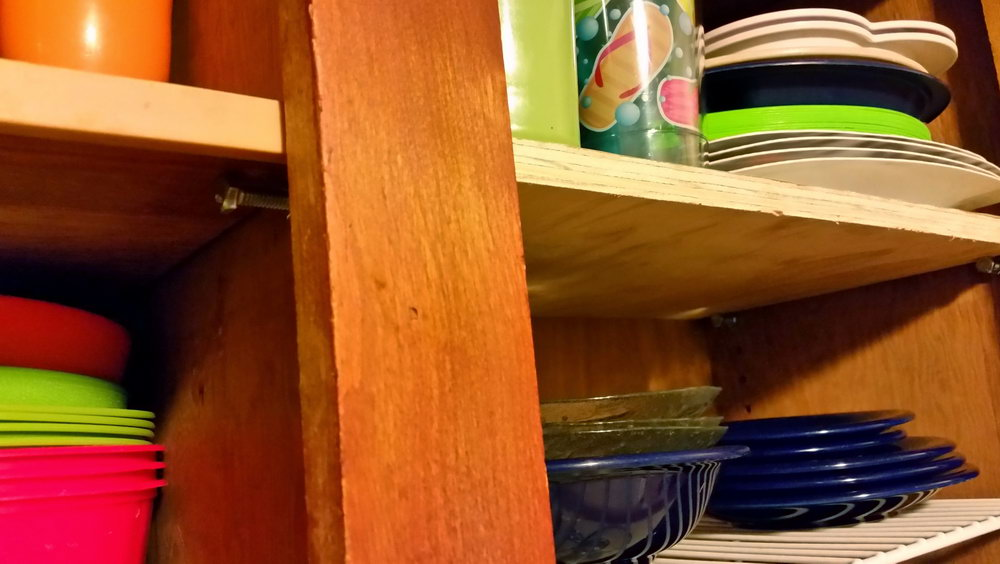 Kitchen Cabinet Shelf Supports