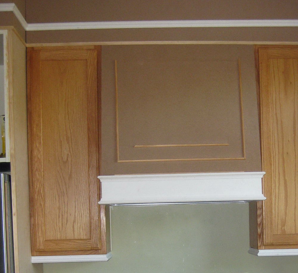 Kitchen Cabinet Top Trim