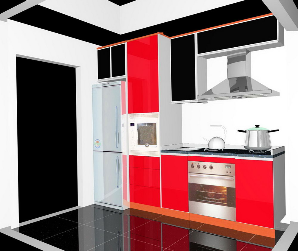 Kitchen Cabinets Design Layout Online