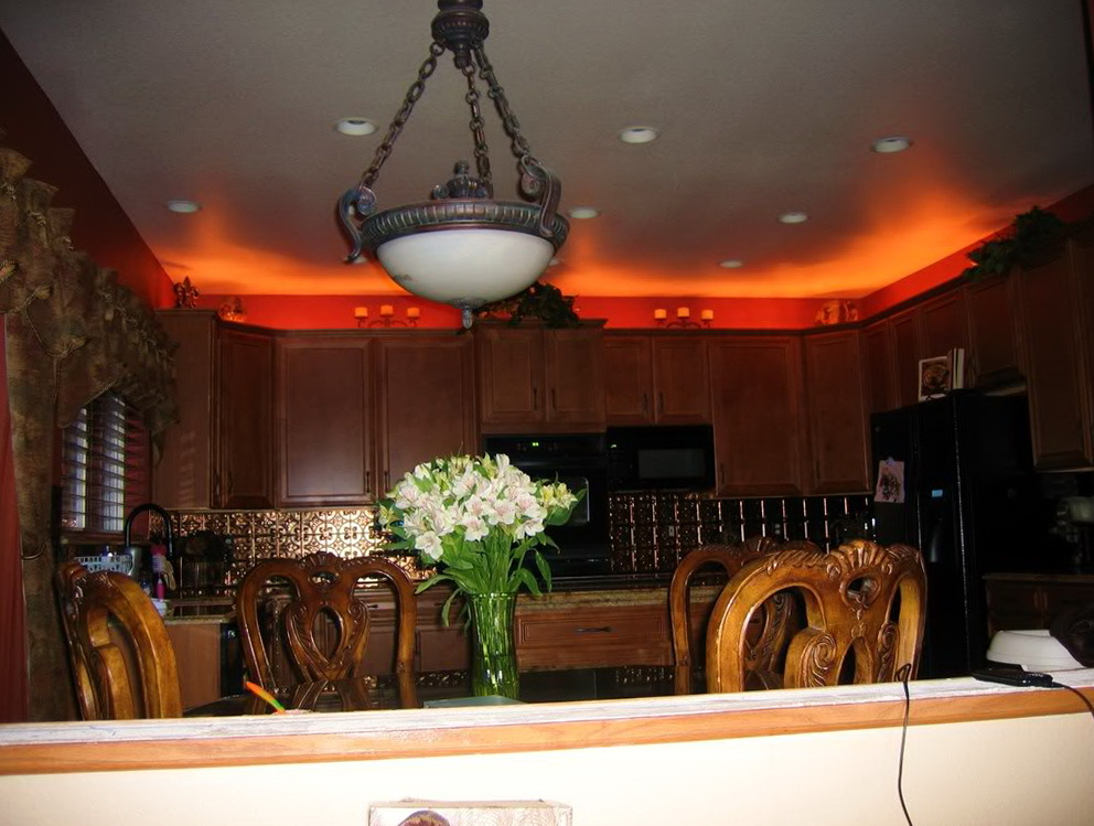 Kitchen Cabinets Lights Installation