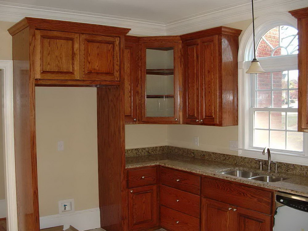 Kitchen Colors With Light Brown Cabinets
