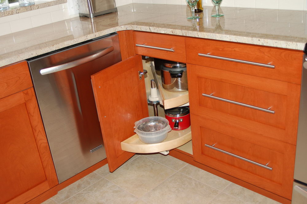 Kitchen Corner Cabinets For Small Spaces