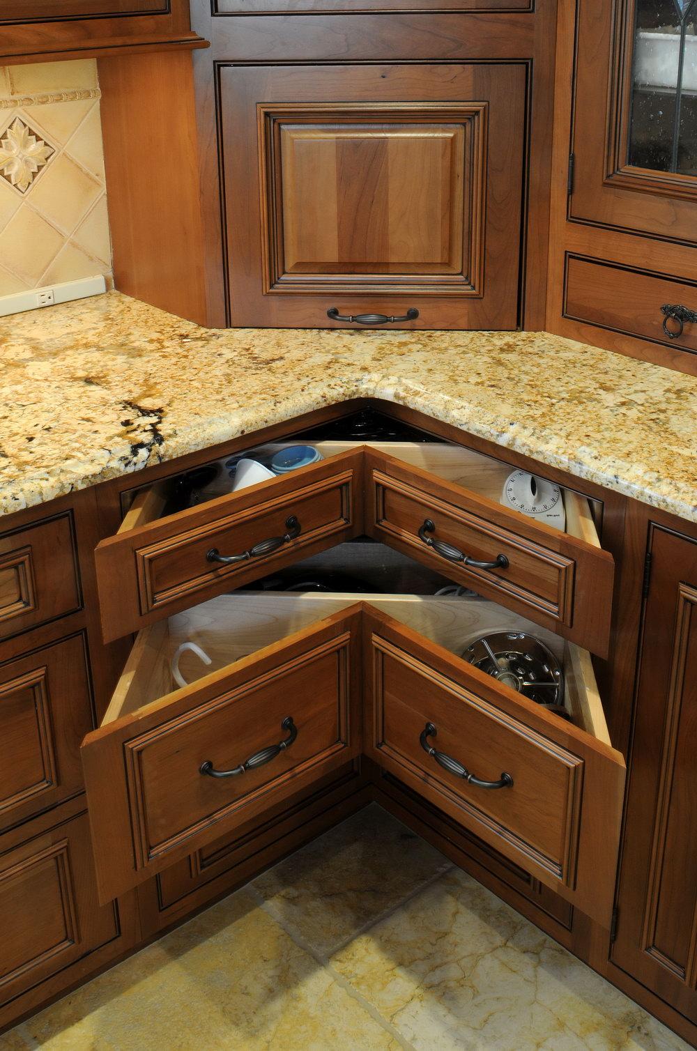 Kitchen Corner Cabinets Ideas