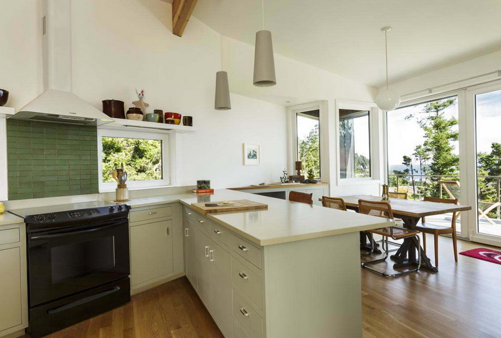 Kitchen Ideas Without Upper Cabinets