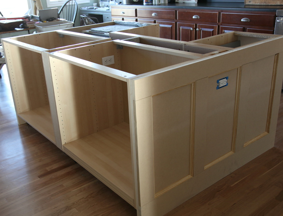 Kitchen Island Cabinets Both Sides