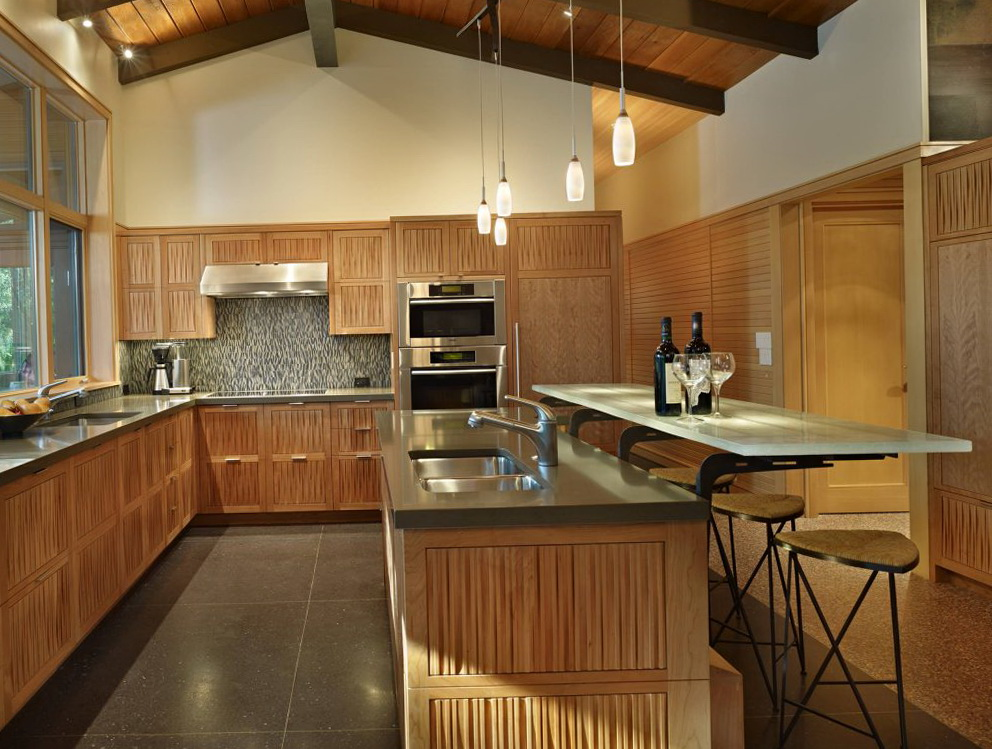 Kitchen Paint Colors With Natural Maple Cabinets