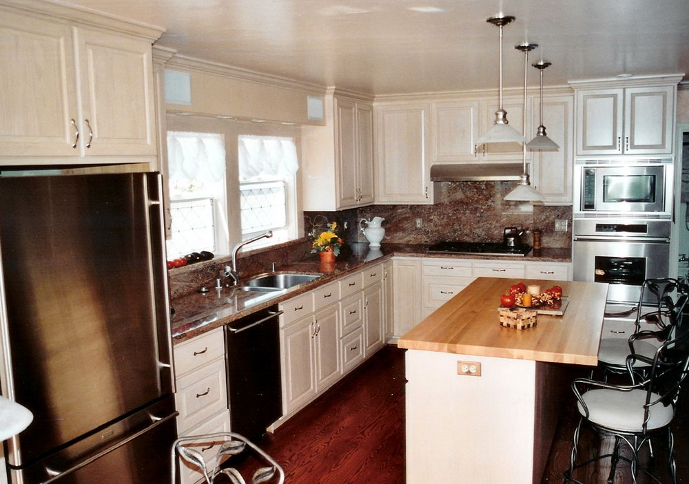 Kitchen Wall Colors With White Cabinets And Stainless Appliances